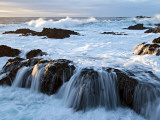 Waves Crashing O Rocks at Soberanes