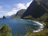 North Molokai Pali in Kalaupapa Peninsula National Historic Park