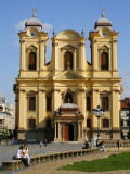 Baroque Roman Catholic Cathedral of St George on Piata Unirii