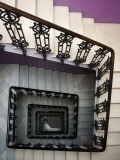 Staircase in Purple Nest Hostel