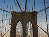 Detail of Brooklyn Bridge