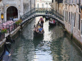 Gondolas in Small Canal