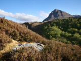 Quinag Mountain in Remote Highlands of Sutherland