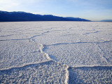 Encrusted Salt Flats at Badwater Basin