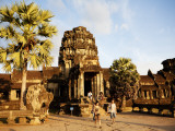 West Gate of Angkor Wat Temple