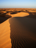 Sand in Sahara Desert Near Chinguetti