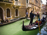 Gondola on Canal in San Marco