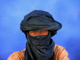 Portrait of Man of the Tuareg Tribe