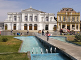Plaza Prat and Municipal Theater