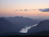 Moon over Loch Etive