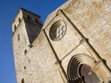West Facade of 13th Century Iglesia De Santa Maria La Mayor