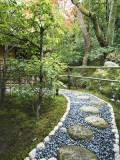 Stone Paved Walkway  Arishiyama District