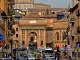 Corso Cairoli from the Modern Town to the Walled City of Macerata  Piazza Suaro
