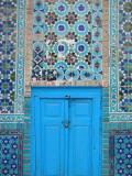 Blue Door  Shrine of Hazrat Ali
