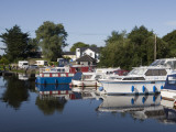 Houseboats on Shannon-Erne Waterway