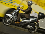 Business Man Riding a Scooter on Via Della Conciliazione
