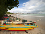 Fishing Boats  Praia Do Ponta Negra Beach