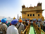Crowds Waiting to Enter Golden Temple