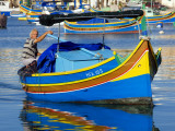 Fishing Boat in Marsaxlokk Harbour