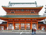 Entrance Gate to Heian Shrine