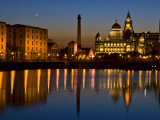 Albert Dock and the 'Three Graces'