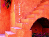 Hacienda Stair Detail