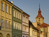 Church of St Ignatius and Houses at Valdstejnske Namesti