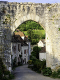 Porte De Rocamadour on the Pilgrim&#39;s Route to St Jacques De Compostela