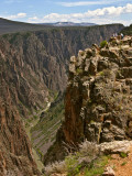 Tomichi Point and Black Canyon in Gunnison National Park