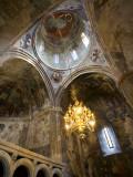 Ceiling Frescoes Inside Sapara Monastery