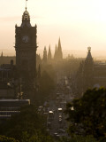 Edinburgh from Calton Hill at Sunset