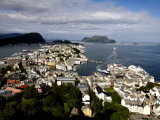 Alesund from Mount Aksla