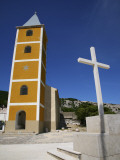 St Ivana Church (Sv Ivana) with Cross North-East of Baska