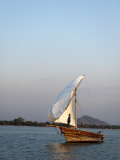 Dhow on Lake Malawi  Cape Maclear