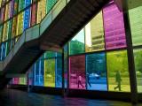 Coloured Glass Panels of Palais Des Congres