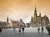 Namesti Benese with Town Hall