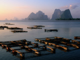 Aquaculture Ponds of Ko Panyi Muslim Village  and Karst Islands of Ao Phang-Nga Bay