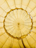 Inside of an Inflating Hot-Air Balloon