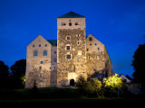 Turku Castle at Night