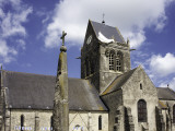 Church at Ste Mere Eglise  One of the First Towns Liberated During the D-Day Landings