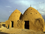 Conical Mud-Brick Beehive Houses  Central Syria