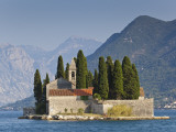 Benedictine Monastery on St George&#39;s Island in Bay of Kotor