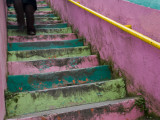 Colourful Stairway in Cerro Concepcion