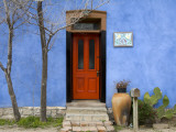Blue House in Barrio Historico District