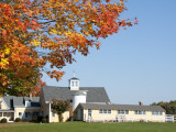 Farmhouse and Fall Colours Near Kennebunkport