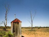 Classic Australian Outdoor Toilet (Dunny)