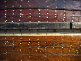 Detail of Ship Hull at Dhow Wharfage on Dubai Creek