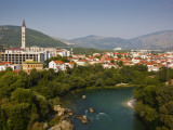 City and Neretva River