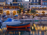 Spinola Harbour at Night