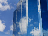 Clouds Reflected in Office Building